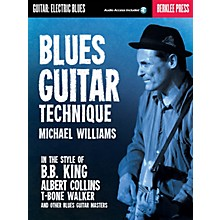 Berklee Press Blues Guitar Technique Berklee Guide Series Softcover Audio Online Written by Michael Williams