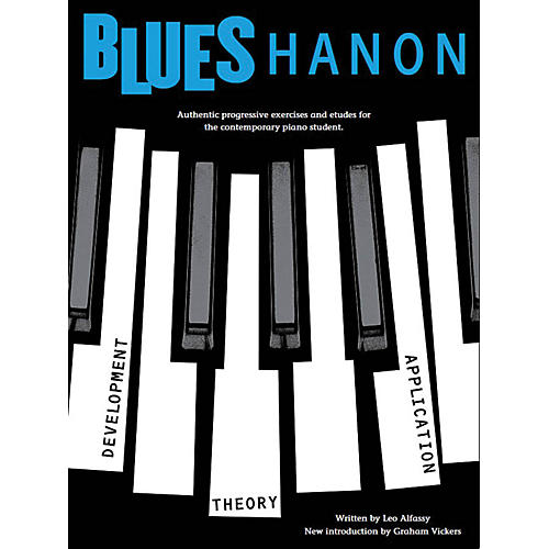 Music Sales Blues Hanon Music Sales America Series Softcover Written by Leo Alfassy thumbnail