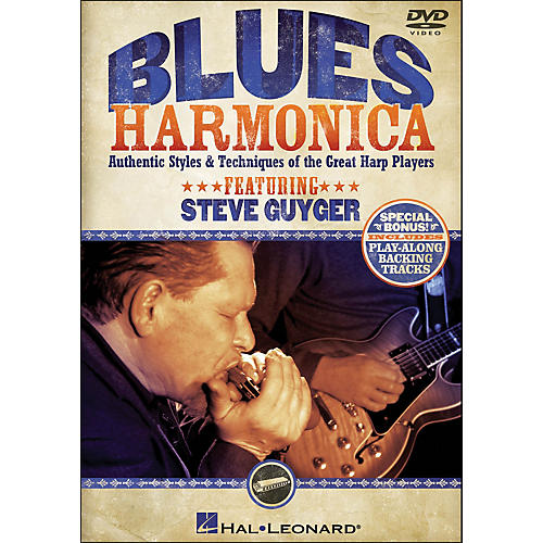 Hal Leonard Blues Harmonica - Authentic Styles & Techniques Of The Great Harp Players (DVD)-thumbnail