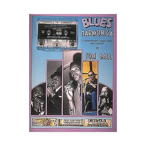 Centerstream Publishing Blues Harmonica (Book/CD)-thumbnail