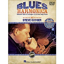 Hal Leonard Blues Harmonica Harmonica Series Softcover with DVD Written by Steve Guyger