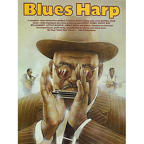 Music Sales Blues Harp Music Sales America Series Written by Tony Glover thumbnail