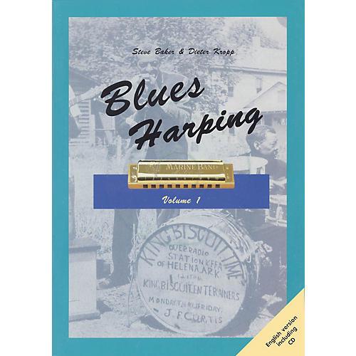 Schott Blues Harping Schott Series Softcover with CD thumbnail