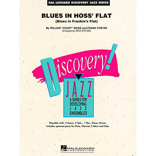 Hal Leonard Blues In Hoss Flat - Discovery Jazz Level 1.5 thumbnail