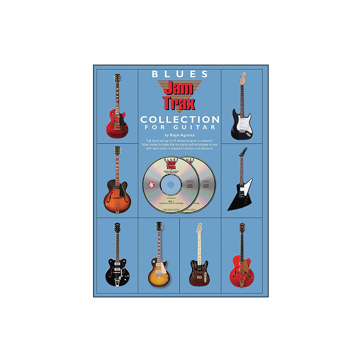 Music Sales Blues Jamtrax Collection - Book/2-CD Pack thumbnail