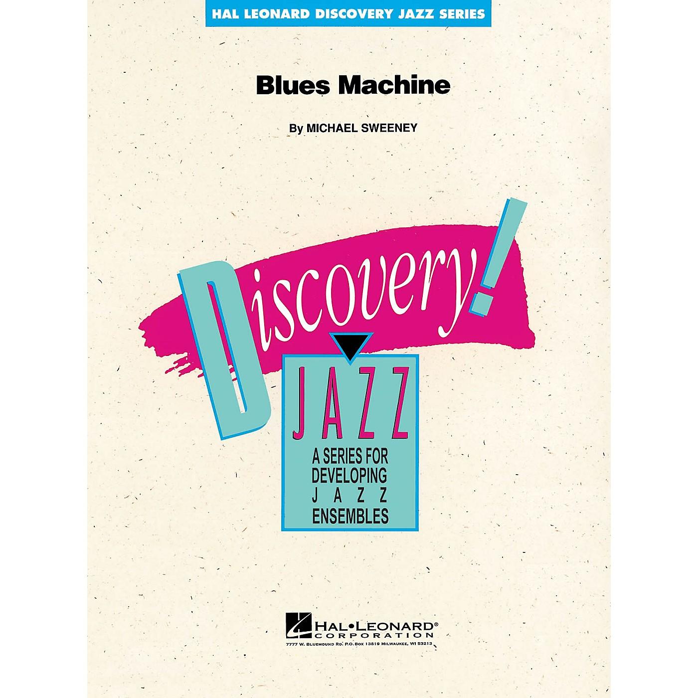Hal Leonard Blues Machine Jazz Band Level 1-2 Composed by Michael Sweeney thumbnail