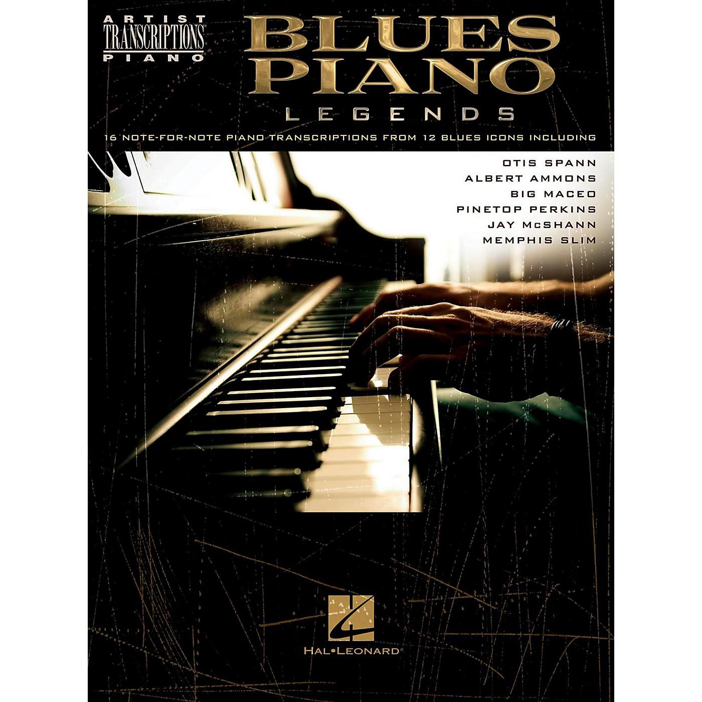 Hal Leonard Blues Piano Legends - Artist Transcriptions thumbnail