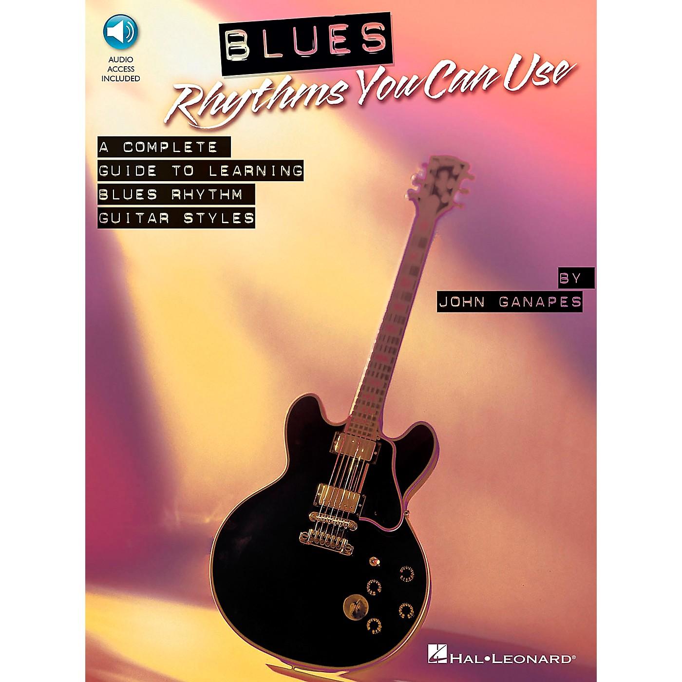 Hal Leonard Blues Rhythms You Can Use Book/Online Audio thumbnail