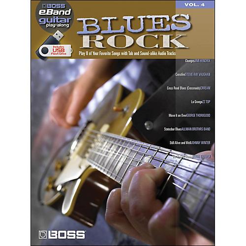 Hal Leonard Blues Rock - Boss eBand Guitar Play-Along Volume 4-thumbnail