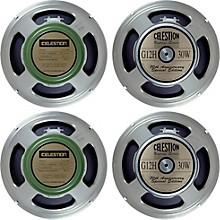 Celestion Blues/Rock 4x12 Speaker Set