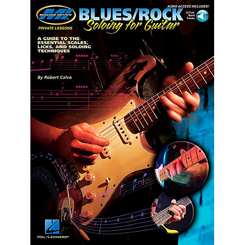 Musicians Institute Blues/Rock Soloing for Guitar (Book/CD) thumbnail