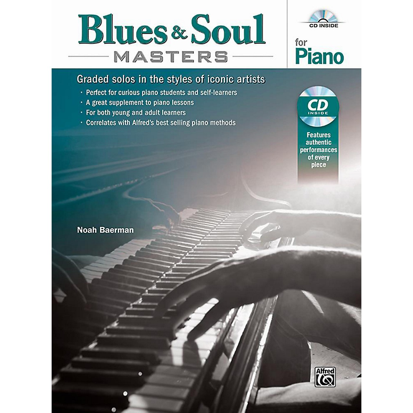 Alfred Blues & Soul Masters for Piano - Book & CD thumbnail