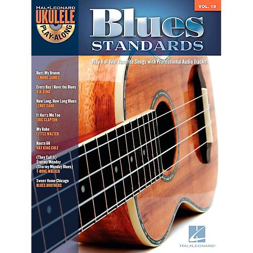 Hal Leonard Blues Standards - Ukulele Play-Along Volume 19 Book/CD thumbnail