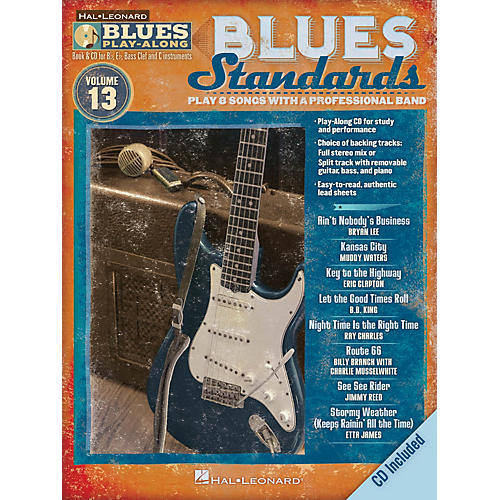 Hal Leonard Blues Standards (Blues Play-Along Volume 13) Blues Play-Along Series Softcover with CD by Various thumbnail