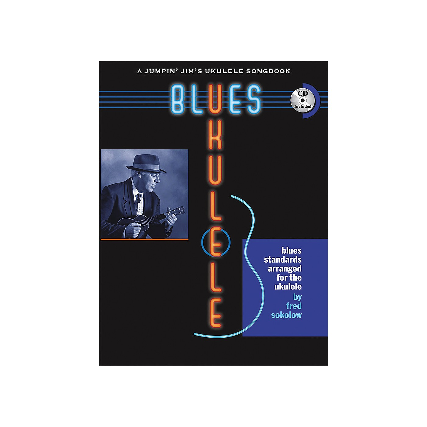 Flea Market Music Blues Ukulele: A Jumpin' Jim's Ukulele Songbook (Book/CD) thumbnail