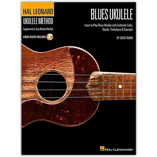Hal Leonard Blues Ukulele Method (Book/Online Audio) thumbnail