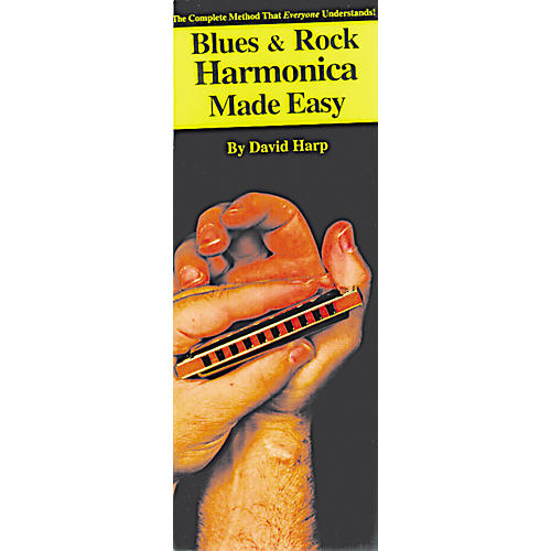 Music Sales Blues and Rock Harmonica Made Easy Compact Reference Book thumbnail