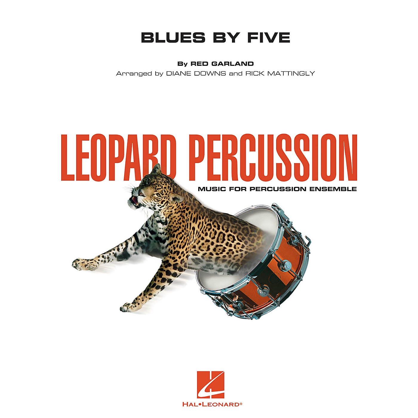 Hal Leonard Blues by Five Concert Band Level 3 Arranged by Diane Downs thumbnail