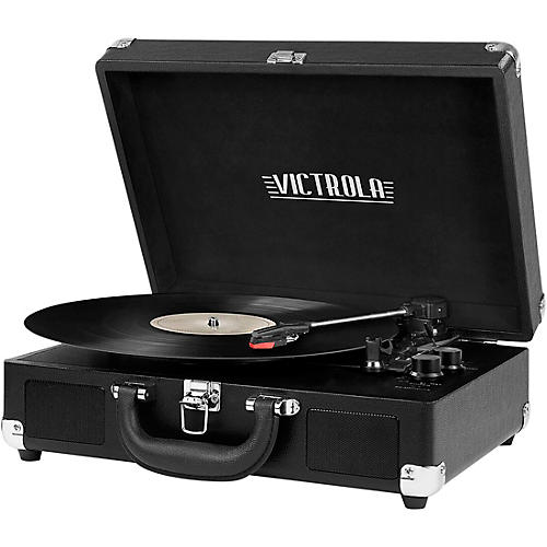 Victrola Bluetooth Portable Suitcase Record Player thumbnail