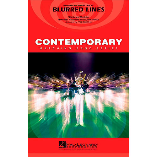 Hal Leonard Blurred Lines - Pep Band/Marching Band Level 3 thumbnail
