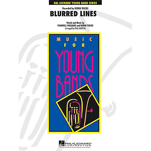 Hal Leonard Blurred Lines - Young Concert Band Level 3 thumbnail