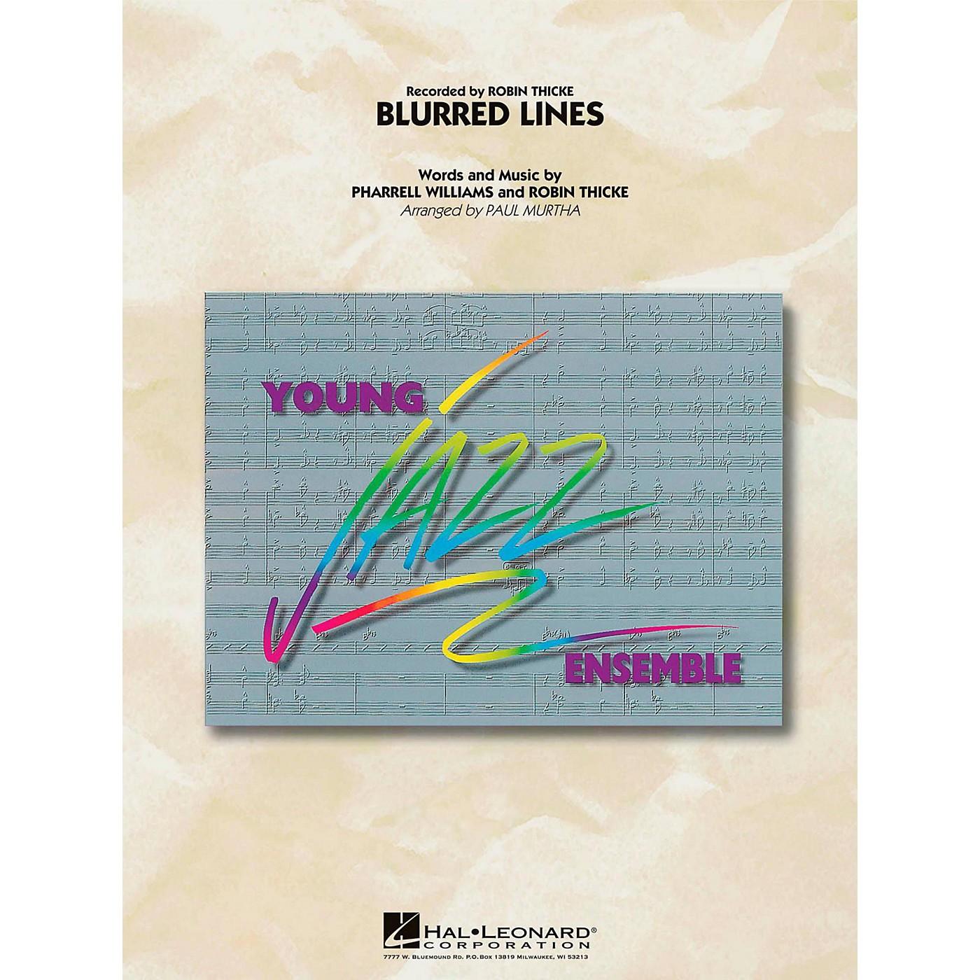 Hal Leonard Blurred Lines  - Young Jazz (Jazz Ensemble) Level 3 thumbnail