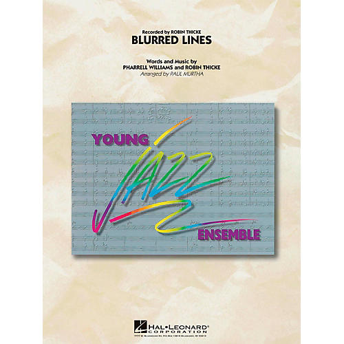 Hal Leonard Blurred Lines  - Young Jazz (Jazz Ensemble) Level 3 thumbnail