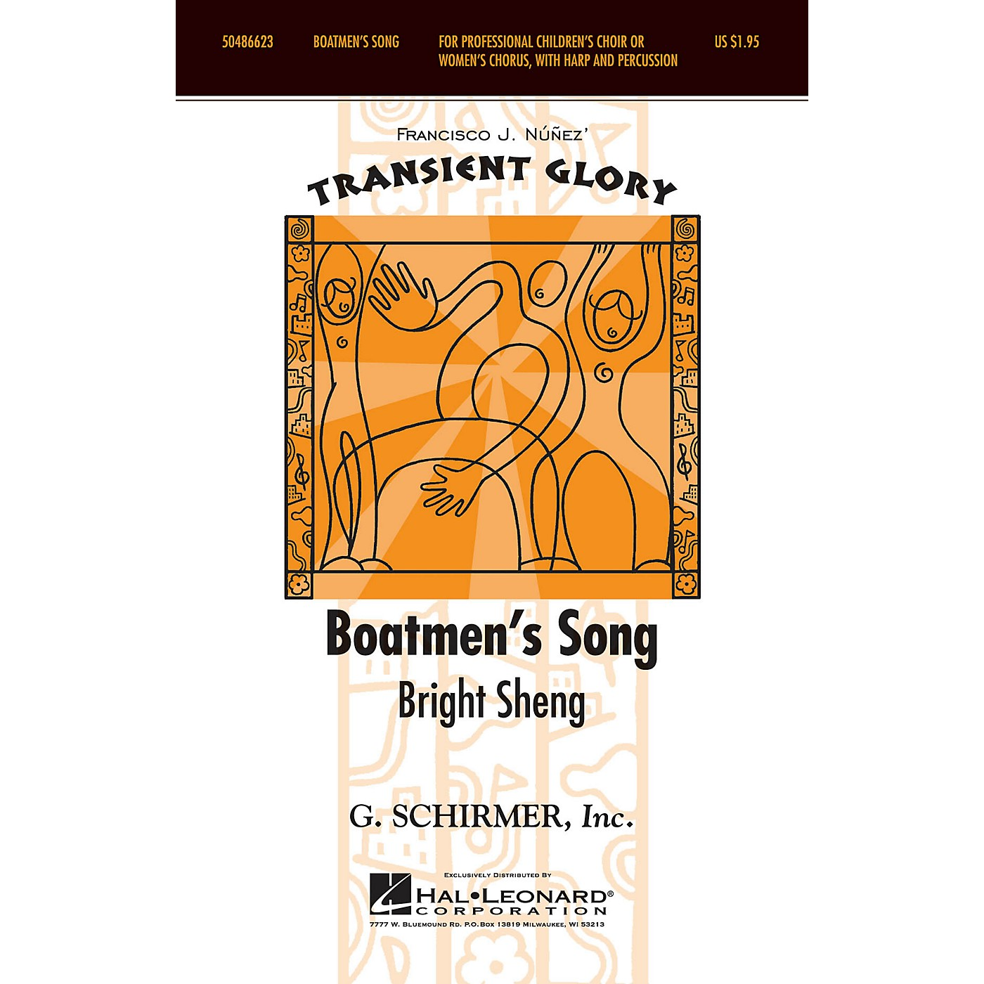 G. Schirmer Boatmen's Song (Transient Glory Series) SSAA composed by Bright Sheng arranged by Francisco Núñez thumbnail