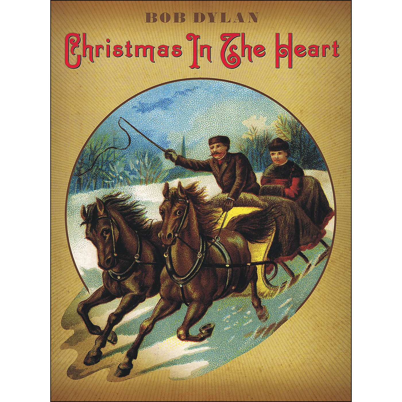 Music Sales Bob Dylan - Christmas In The Heart arranged for piano, vocal, and guitar (P/V/G) thumbnail