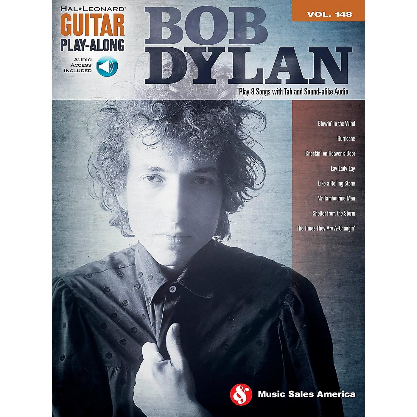 Music Sales Bob Dylan - Guitar Play-Along Volume 148 Book/CD thumbnail