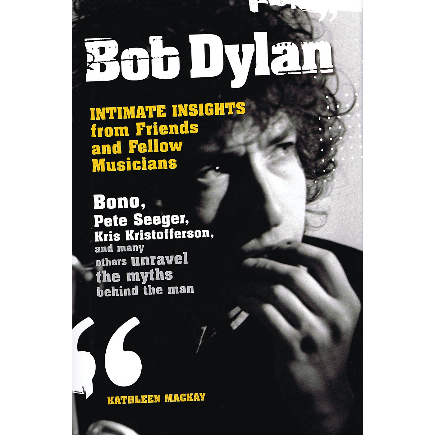 Omnibus Bob Dylan - Intimate Insights from Friends and Fellow Musicians Omnibus Press Series Hardcover thumbnail