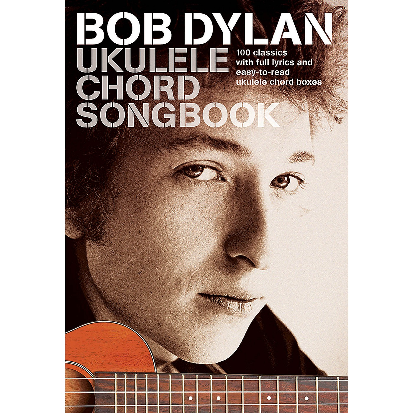 Wise Publications Bob Dylan - Ukulele Chord Songbook Ukulele Series Softcover Performed by Bob Dylan thumbnail