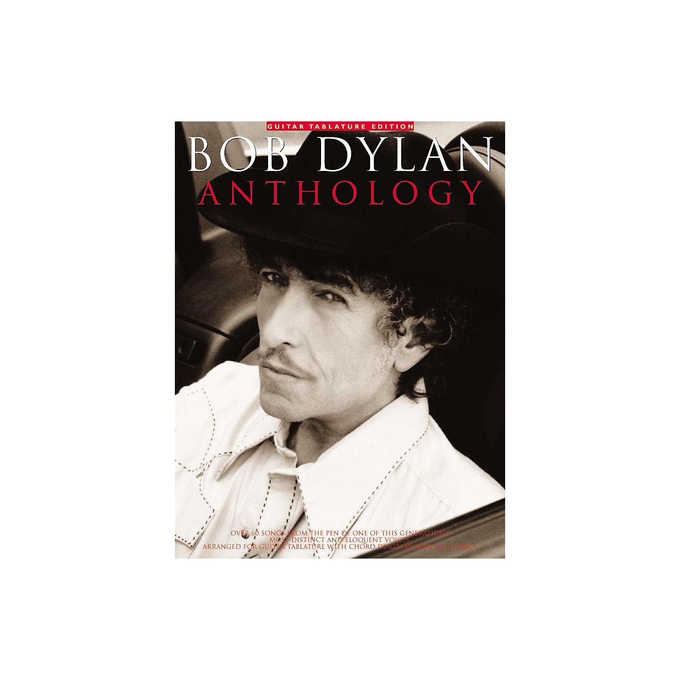 Music Sales Bob Dylan Anthology Guitar Tab Songbook thumbnail