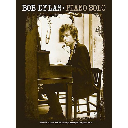 Music Sales Bob Dylan Piano Solo Songbook-thumbnail