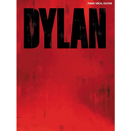 Music Sales Bob Dylan Red Piano, Vocal, & Guitar Songbook thumbnail