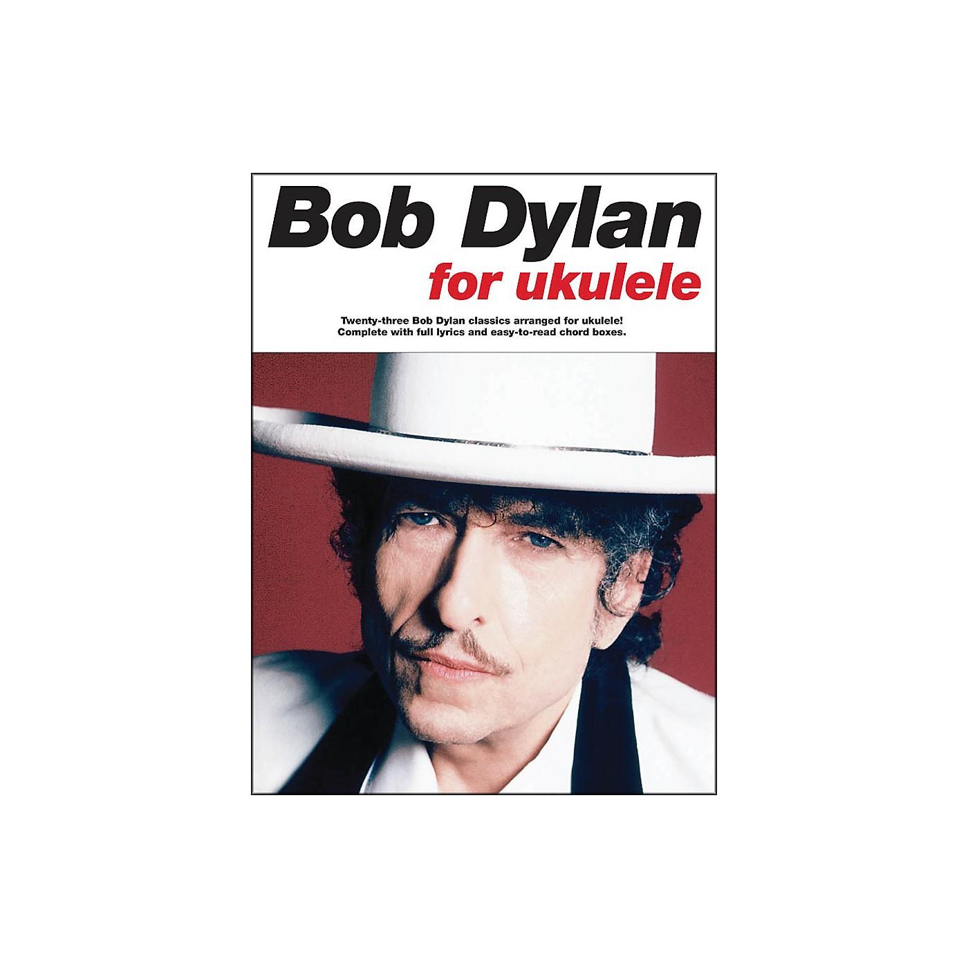 Music Sales Bob Dylan for Ukulele Songbook thumbnail