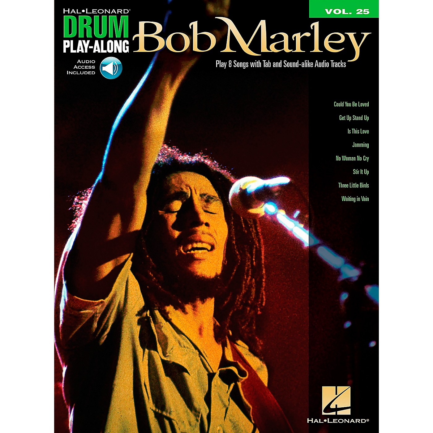 Hal Leonard Bob Marley - Drum Play-Along Volume 25 Book/CD thumbnail