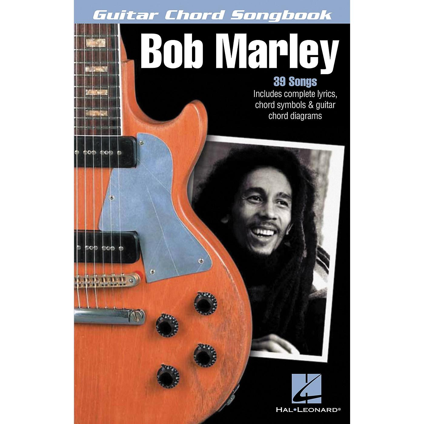 Hal Leonard Bob Marley - Guitar Chord Songbook thumbnail