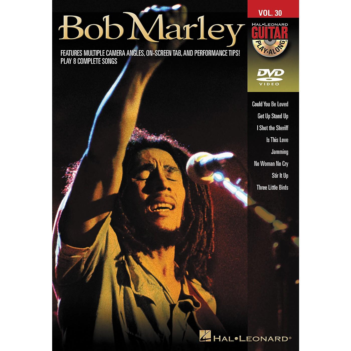 Hal Leonard Bob Marley - Guitar Play-Along DVD Volume 30 thumbnail