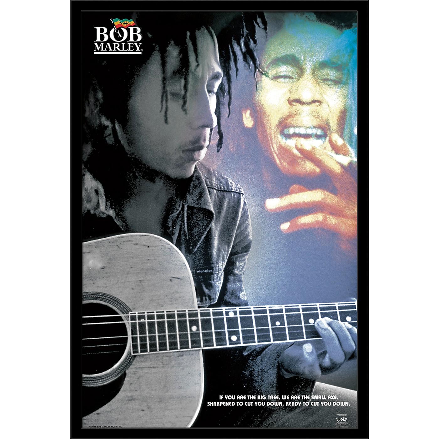 Trends International Bob Marley - Guitar Poster thumbnail
