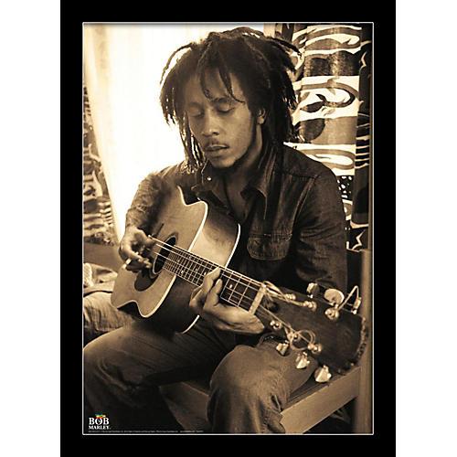 Ace Framing Bob Marley - Sepia 24x36 Poster thumbnail