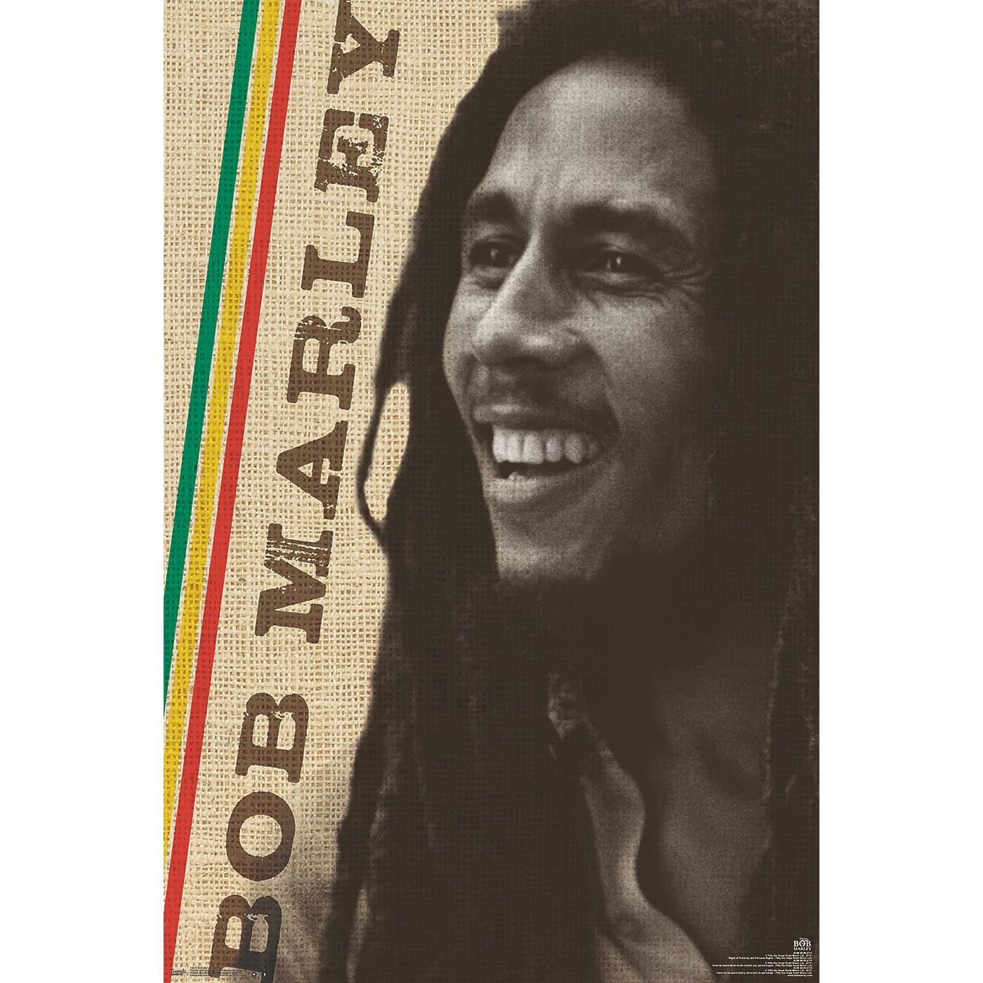 Trends International Bob Marley - Smile Poster thumbnail