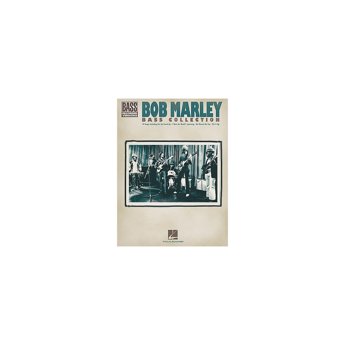 Hal Leonard Bob Marley Collection Bass Guitar Tab Songbook thumbnail