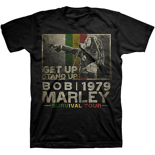 Bravado Bob Marley Get Up T-Shirt-thumbnail
