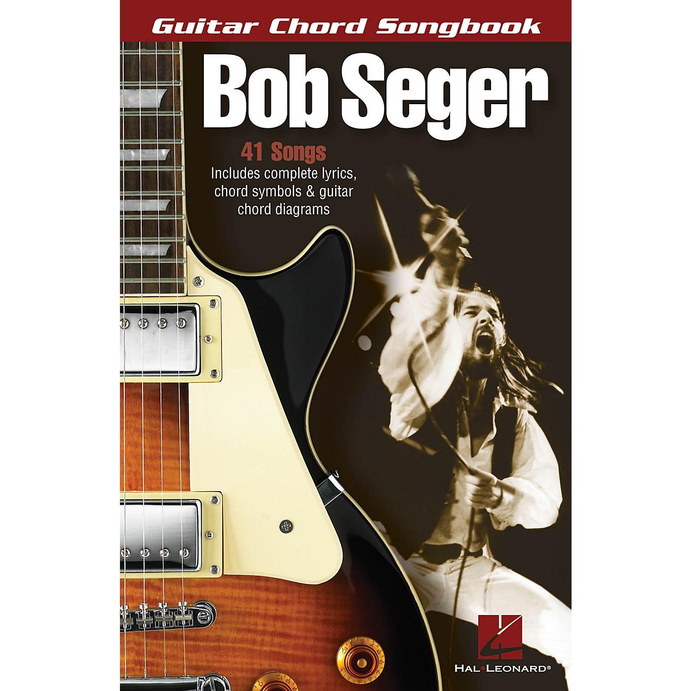 Hal Leonard Bob Seger - Guitar Chord Songbook Guitar Chord Songbook Series Softcover Performed by Bob Seger thumbnail