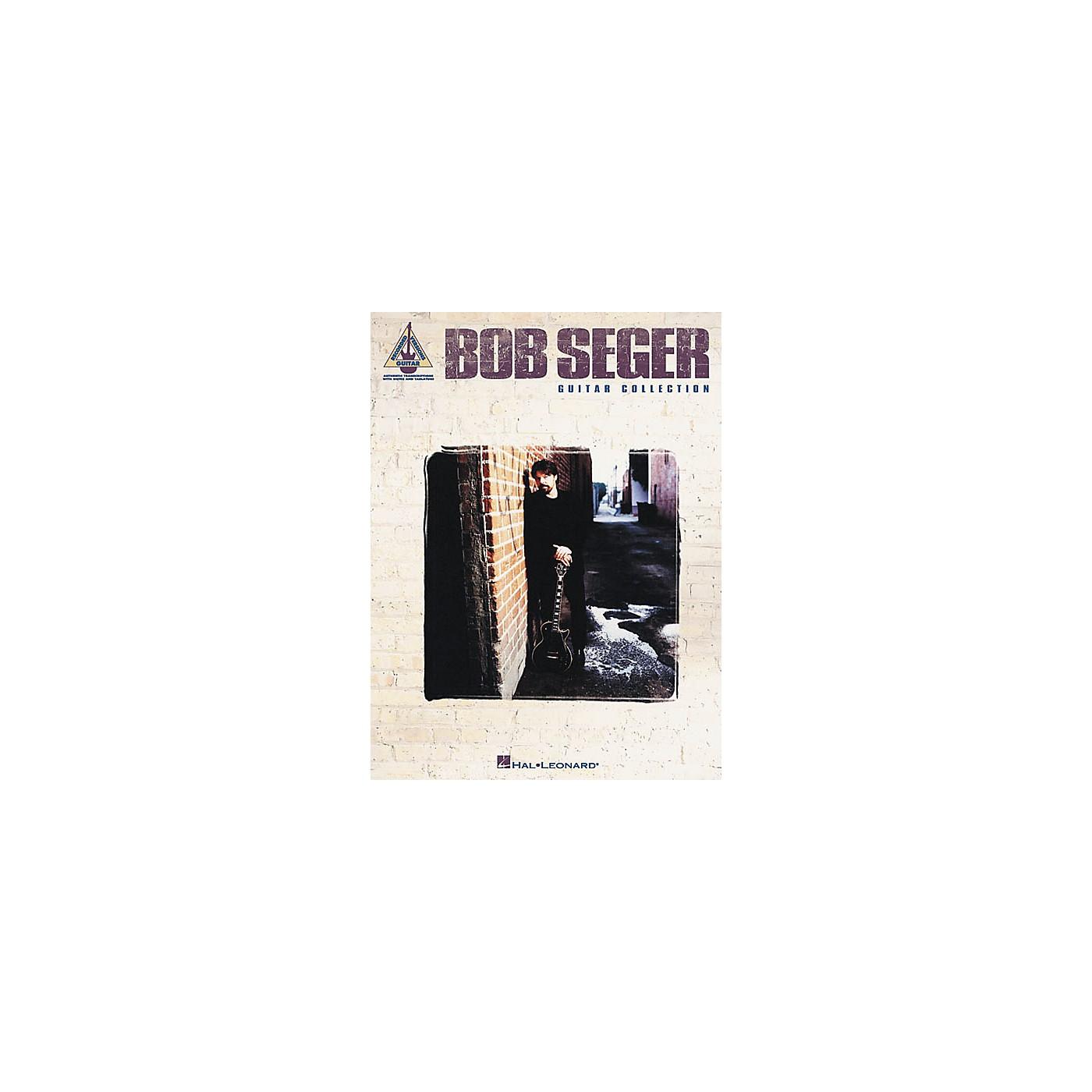 Hal Leonard Bob Seger Collection Guitar Tab Songbook thumbnail