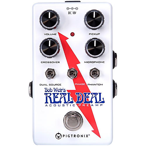 Pigtronix Bob Weir's Real Deal Acoustic Guitar Preamp Pedal thumbnail