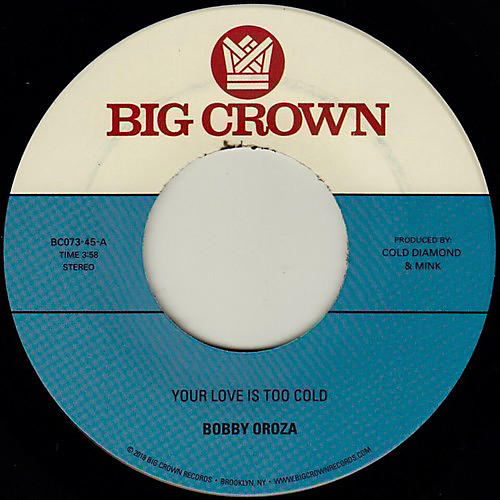 Alliance Bobby Oroza - Your Love Is Too Cold / Deja Vu thumbnail