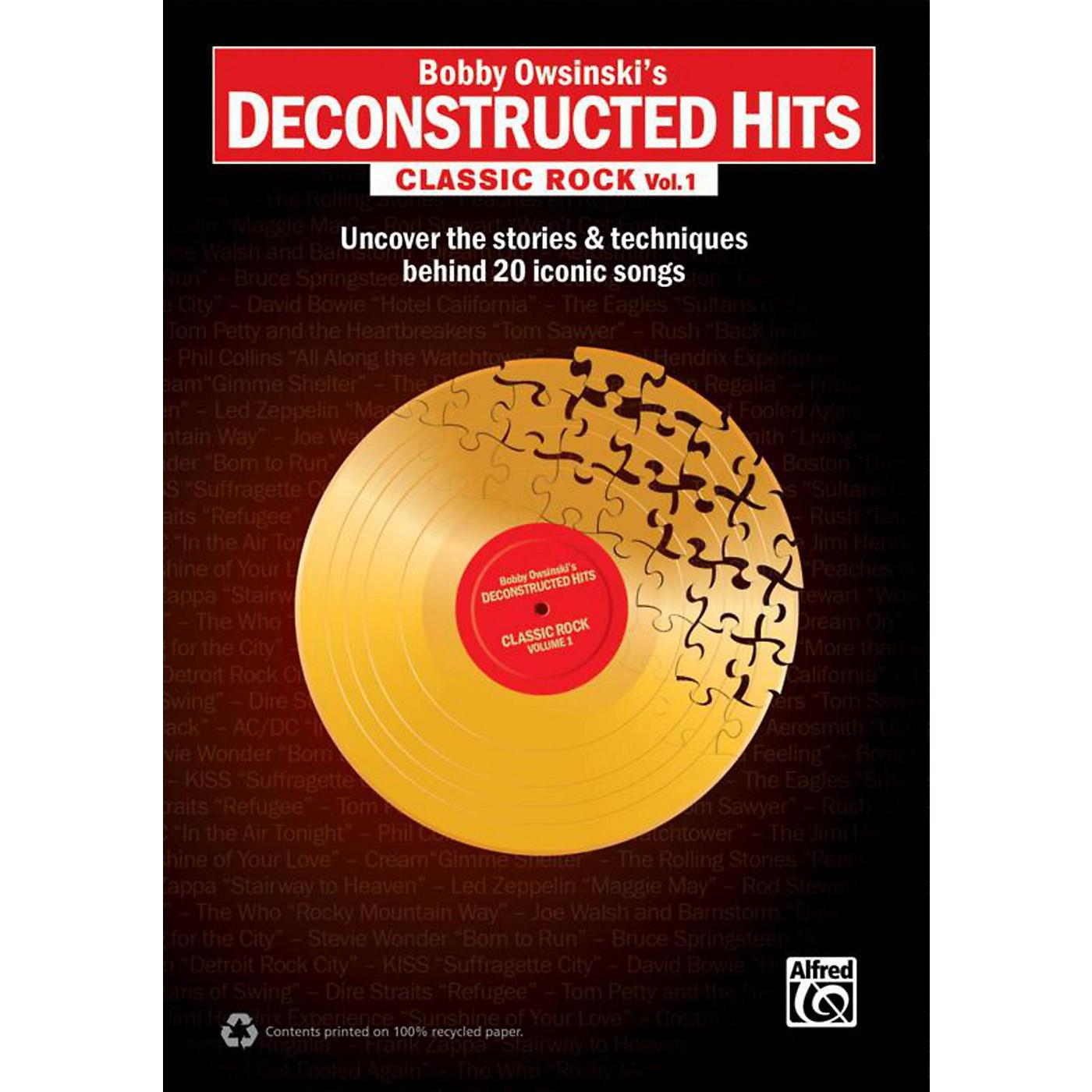 Alfred Bobby Owsinski's Deconstructed Hits: Classic Rock Vol. 1 Book thumbnail