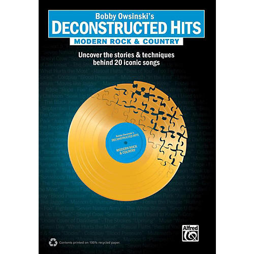 Alfred Bobby Owsinski's Deconstructed Hits: Modern Rock & Country Book thumbnail